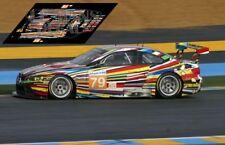 Decals BMW M3 GT2 Le Mans 2010 79 1:32 1:24 1:43 1:18 slot calcas