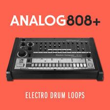 Tambor analógico 808+ Electro bucles EDM Hip Hop Beats Ableton Live Cubase Logic Pro
