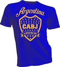 Boca Juniors de Argentina Futbol Soccer T Shirt Camiseta - La mitad mas uno new