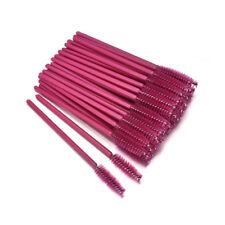50pcs Silicone Head Disposable Mascara Wands Eyelash Brushes Lash Extention CN