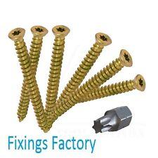 X100 - Concrete Frame Fixing Screws, Windows/Doors & UPVC Screws - BEST QUALITY!