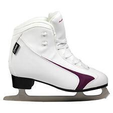 Winnwell Soft Boot Senior Figure Skates - White (New)