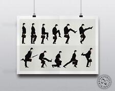 MONTY PYTHON -  Ministry of Silly Walks Minimalist Poster Posteritty Minimal Art