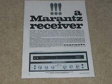 Marantz Model 18 Receiver Ad, 1968, 1 page, Specs, Article, Info