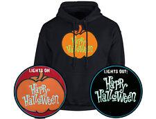 Happy Halloween Calabaza brillan en la oscuridad Unisex Sudadera Con Capucha 10 Colores (S-5XL) por swa