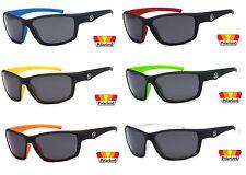 Polarized Nitrogen Sunglasses Sport Running Fishing Driving Glasses Matte Black