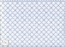 Wallpaper Dutch Tile JM06  blue on white  dollhouse  1pc Jackson's Miniatures