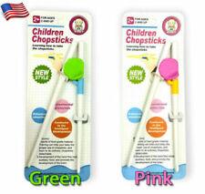 Children Chopsticks Easy Learning Helper Training Home Kids Beginner