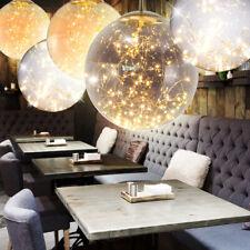 LED Glass Design Ball Ceilings Lights Bedroom Pendulum Spotlight Hanging Lights