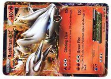 PROMO POKEMON BLACK & WHITE HOLO N° BW36 RESHIRAM EX 180 HP Attak 150