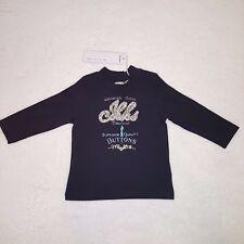 IKKS t-shirt bébé fille marine manches longues taille 3, 6 ou 12 mois NEUF