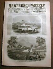 Complete Original 1861-1865 illustrated Civil War newspaper HARPER'S WEEKLY