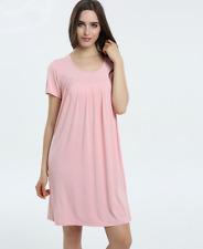 Free Size bamboo fiber ladies sleepwear nightdress soft comfortable  女士竹纤维睡衣睡袍