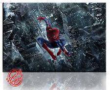 Wall Art foto su tela stampa di spiderman Incorniciato Pronto da Appendere