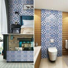 Waterproof Ceramic Tile Sticker Self Adhesive Kitchen 3D Floor Wall Stickers