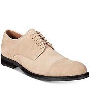 Alfani Mens Eric Mixed Texture Cap Toe Oxfords Shoes Camel