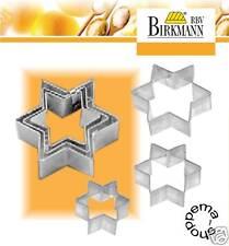 Emporte-pièce gâteaux terrasse étoile , Inox RBV Birkmann