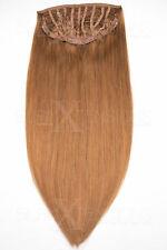 Halfwig Tresse mit Clips 70g/100g - 35/50cm Echthaar Haarverlängerung