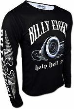 BILLY EIGHT ★ Holy Hell Rod ★ Longsleeve Sweatshirt Langarm Shirt für Herren NEU