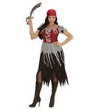 Costume Carnevale Donna Vestito Piratessa PS 22817 Travestimento Pirati