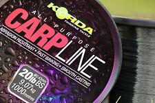 Korda Carpe Mono Carpe Mer Match Vert 1000m Ligne de Pêche – Toutes les Tailles