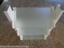 LOUVRE WINDOW GLASS FROSTED  AUSTRALIAN STANDARD custom cut suits 803max