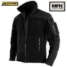 Felpa MFH Combat Black Multitasche Vest Tattica Caccia Militare Softair S,M,L,XL