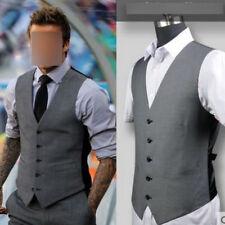 Men's Tuxedo Waistcoat Coat M-6XL Formal Casual Dress Vest Suit Slim Fashion new