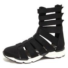 6814O sandalo JEFFREY CAMPBELL ceres nero scarpa donna shoe woman