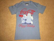 COKE Coca-Cola POLAR BEAR bottle X-MAS Christmas Vintage Retro MEN'S New T-Shirt