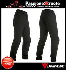 Pantaloni Dainese Amsterdam nero black moto pant