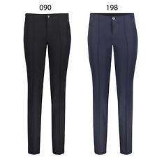 MAC Anna Zip New - Edele Damen Business Bi-Stretch Gabardine Hose -  090, 198