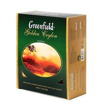 Greenfield Tea Black  Green Herbal  in 100 Tea Bags and 80 Tea Pyramids