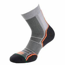 1000 Mile Mens Trail Running Socks Grey Sports Breathable Lightweight