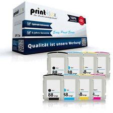 8x Austausch Tintenpatronen für HP88 Tinten Kassetten Druckkopf-Easy Print Serie