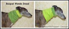 Wende Snood für Windhunde (beidseitig tragbar) in vielen schönen Farben