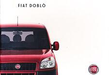 2008 Fiat Doblo Van Original Sales Brochure UK