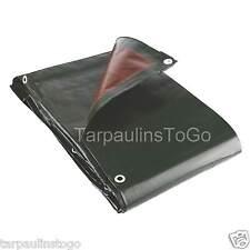 Tarpaulin Extra Heavy Duty 250GSM Waterproof Groundsheet Boat Log Cover Hay Tarp