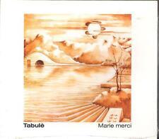 "TABULE' - RARO CD FUORI CATALOGO CELOPHANATO "" MARIE MERCI """