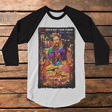 "Terence Mckenna ""CULTure"" Baseball Tee Raglan Shirt"