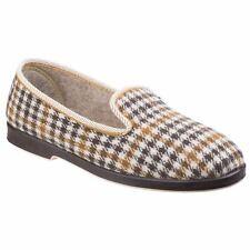 GBS Everett Slipper grau Classic Herren Hausschuhe Textil