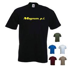 'Magnum p.i' November / Moustache / Beard mens Funny T-shirt Tee