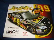 2011 KENNY WALLACE #09 UNOH NASCAR POSTCARD