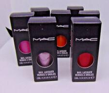 M.A.C Nail Lacquer Nail Polish 0.34Fl.oz./10ml NIB Choose Shade