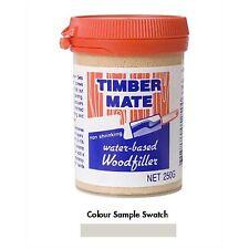 Timbermate WOOD FILLER Water Based NATURAL *Australian Brand - 250g, 500g Or 2Kg