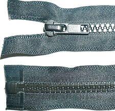 Cremallera pzg Plastik fuertemente grob para cuero-moto cremalleras 8-9mm