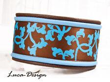 Windhundhalsband sea blau Hundehalsband dog Collar Windhund Greyhound Galgo