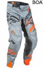 Fly Racing MX Motocross MTB BMX 2018 EVOLUTION 2.0 Pants (Grey/Orange/Black)