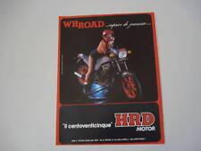 advertising Pubblicità 1985 MOTO HRD 125 WH