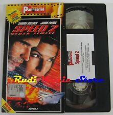 film VHS SPEED 2 SENZA LIMITI S. Bullock CARTONATA  PANORAMA 1997 (FP1* ) no dvd